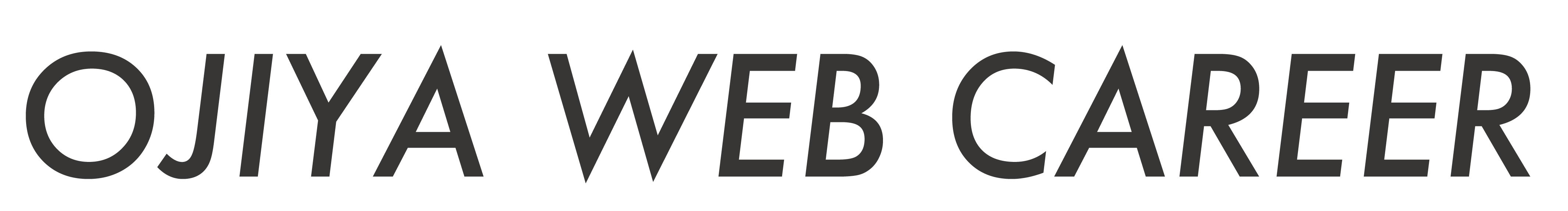 OJIYA WEB CAREER